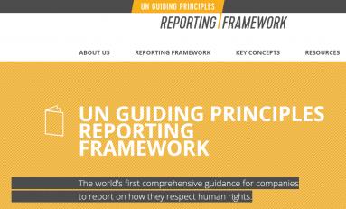 Опубликовано первое комплексное Руководство (рамочный подход) для компаний по отчетности в области прав человека