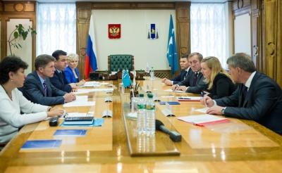 Правительство Сахалинской области и компания «Роснефть» продолжат сотрудничество в реализации социальных проектов
