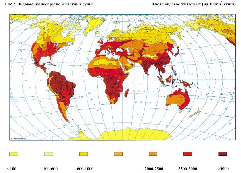 Снижение биоразнообразия