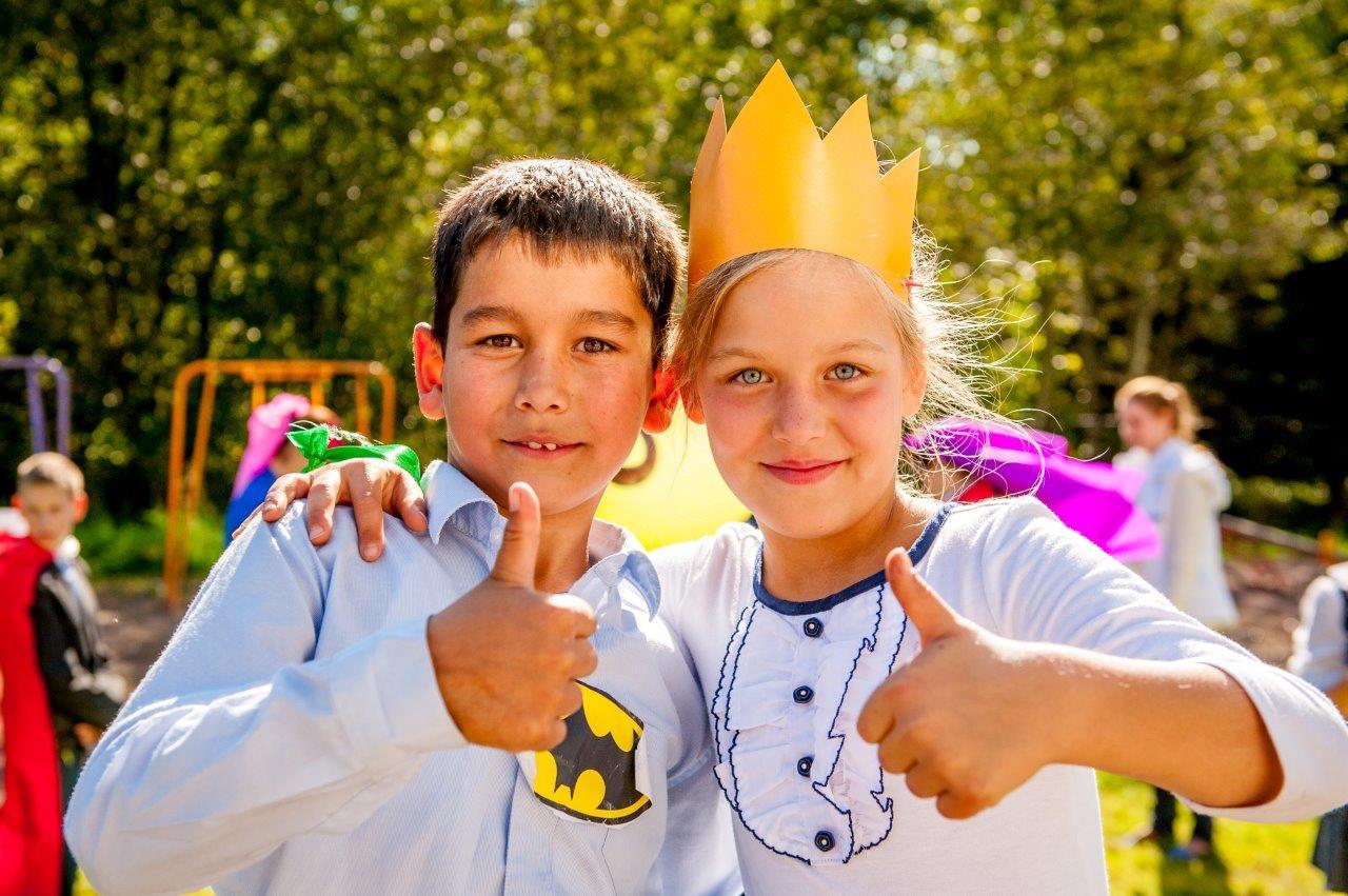 Волонтеры «Газпром нефти» организовали работу Школы супергероев