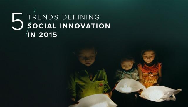 Топ-5 социальных инноваций 2015 года
