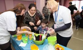 Сотрудники «Газпромнефть-Муравленко» приняли участие в волонтерской акции для детей с ограниченными возможностями здоровья