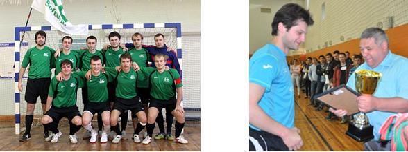 Любительская мини-футбольная команда компании «СОФТКЛУБ»