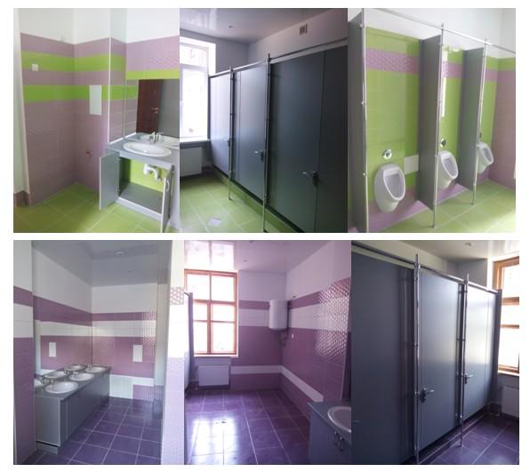 Ремонты школьных туалетов