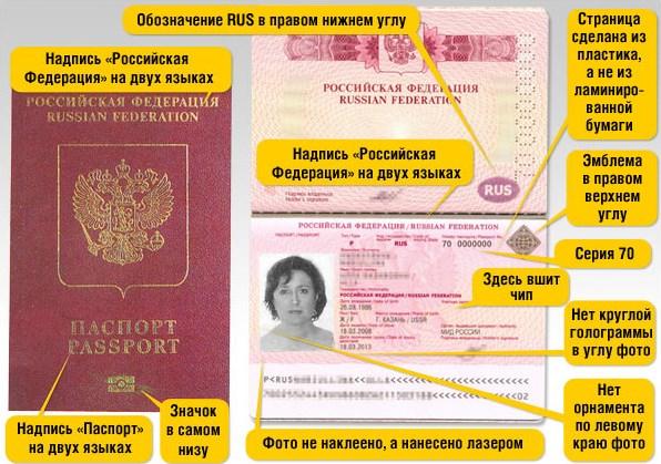 Образец нового загранпаспорта