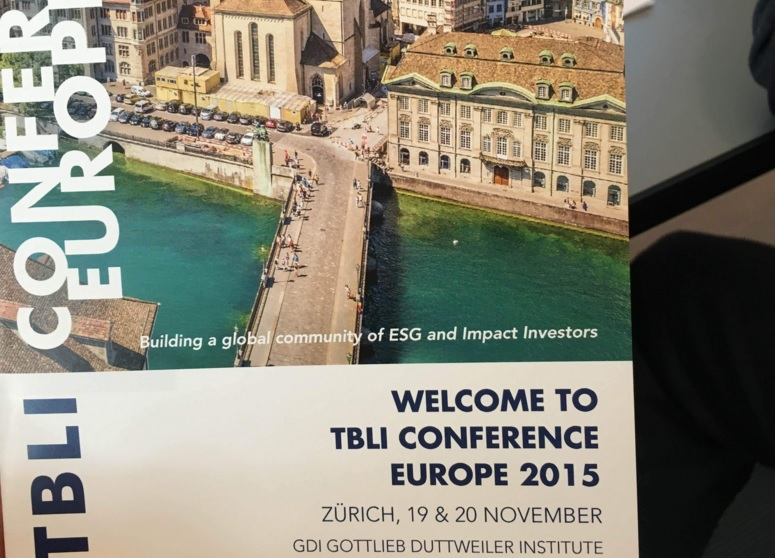 TBLI CONFERENCE EUROPE 2015,