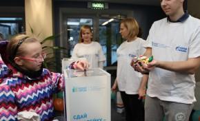 Волонтеры «Газпром нефть – Муравленко» организовали акцию по сбору использованных батареек