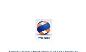 Социальный отчет РусГидро получил высшую оценку RAEX