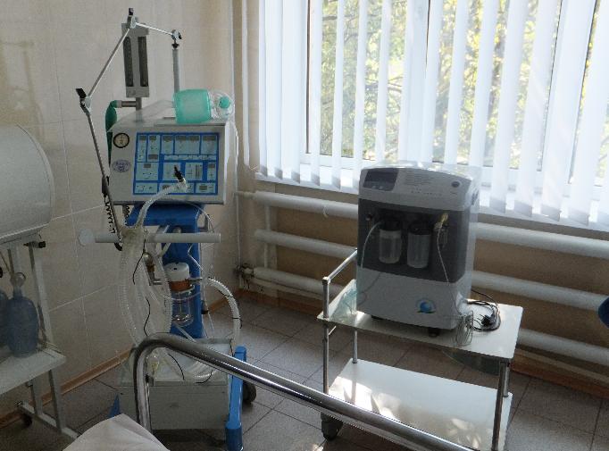 современное медицинское оборудование для кардиологического отделения городской больницы №9