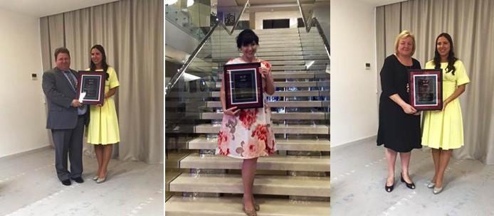 Торжественное окончание руководством Организации «Школы владельцев бизнеса» (ШВБ-44), 12 сентября 2015, г. Одеса