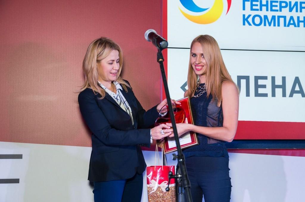 ООО Сибирская генерирующая компания, Руководитель пресс-службы  Наталья Ефимова (справа)