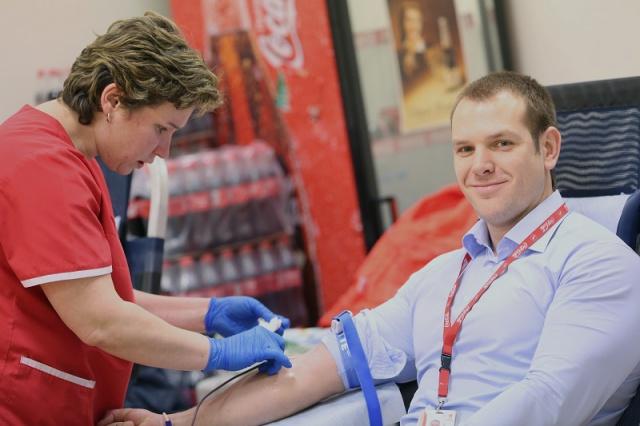 сотрудники Coca-Cola Hellenic сдали более 80 литров крови