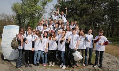 ПАО «Запорожсталь» провел экологический квест для школьников Запорожья