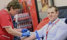 «Дни Донора»: сотрудники Coca-Cola Hellenic сдали более 80 литров крови