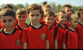 Детская школа футбола Запорожья обрела новую жизнь