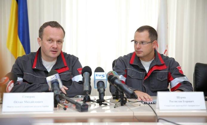 Ростислав Шурма (справа)
