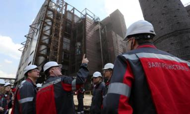 """Министр экологии и природных ресурсов Украины посетил МК """"Запорожсталь"""""""