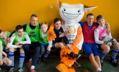 Как «Белагропромбанк» подружил детей из детских домов со спортсменами, актерами и даже послами