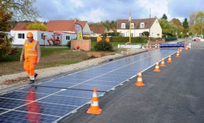 Дороги из солнечных батарей приходят на смену асфальту