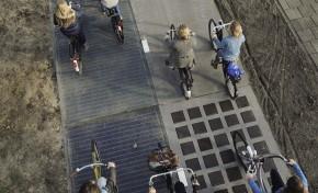 Во Франции построили первую солнечную дорогу