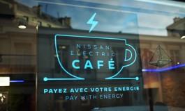 В кафе Nissan посетители расплачиваются электроэнергией