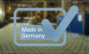 Теперь у немцев есть своя собственная сертификация КСО «Сделано в Германии»