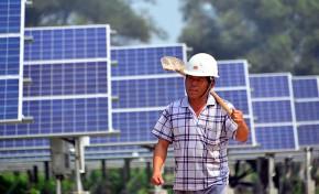 Китай снижает цены на солнечную и ветряную энергию