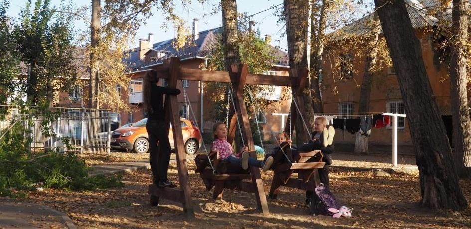 «Двория» - проект развития дворового пространства
