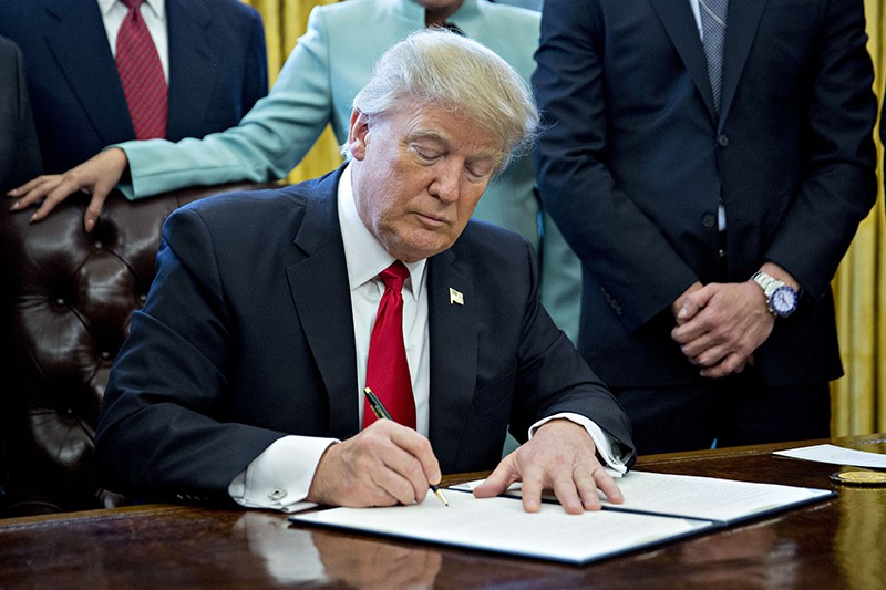 Трамп отменил указ Обамы о борьбе с изменениями климата