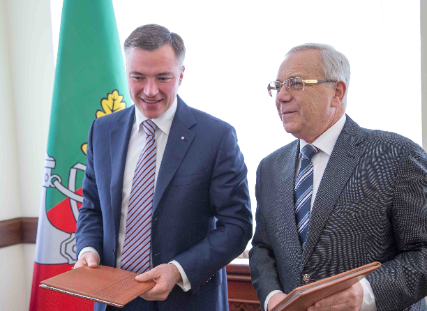 Группа Метинвест и городские власти Кривого Рога утвердили Программу социального партнерства на 2017 год.