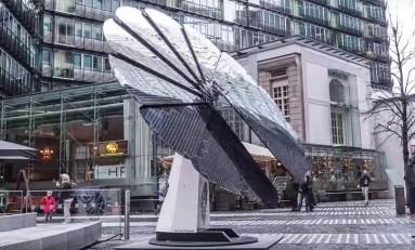 Smartflower — солнечные панели, которые следуют за солнцем