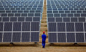 Китай увеличил производство солнечной энергии на 80%