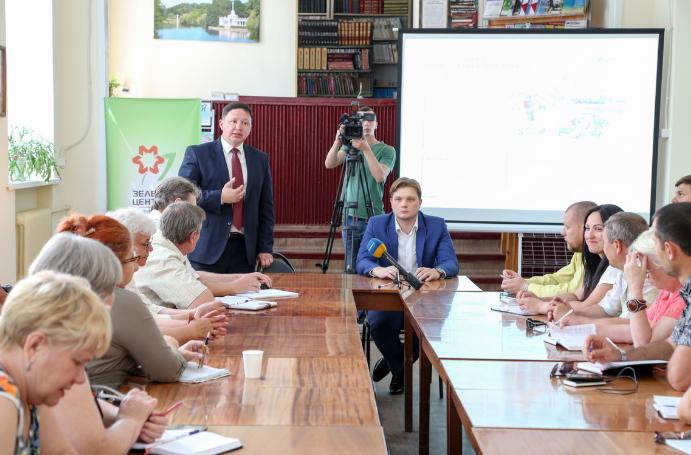 Общественный союз «Зеленый центр Метинвест» объявил о начале второго этапа конкурса «Сто дворов».