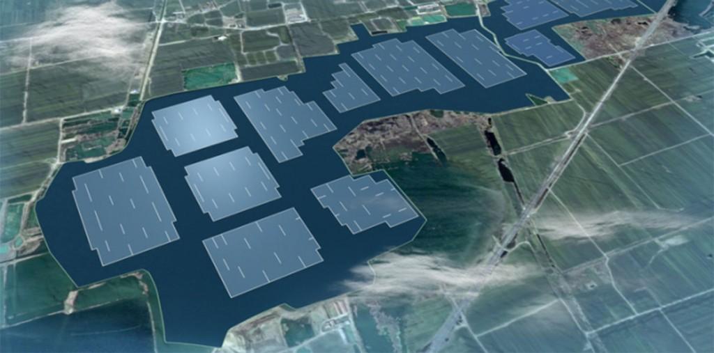 В Китае построят крупнейшую в мире плавучую солнечную электростанцию