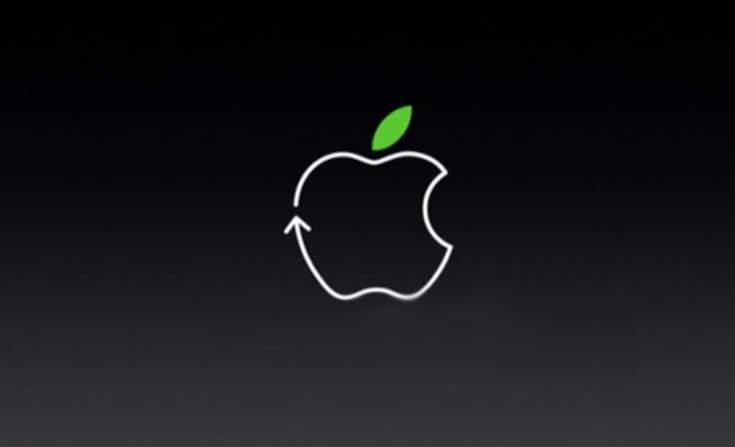 Гигант Apple нацелился на 100% переработку материала