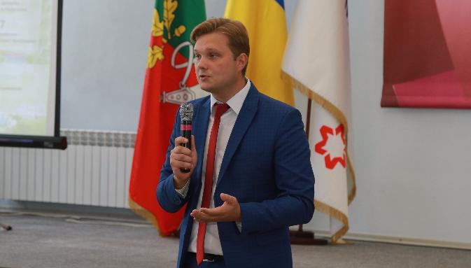 Заместитель городского головы Кривого Рога Андрей Полтавец