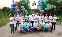Экологическая акция «Мөлдір су» стартовала в г. Алматы на Аэропортовском озере