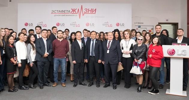LGElectronics подводит итоги акции «Эстафета Жизни»