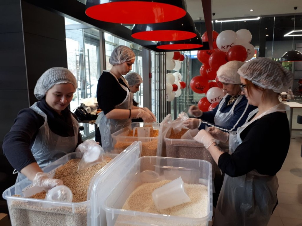 Фонд продовольствия «Русь» подвел итоги акции «Подари обед ребенку»