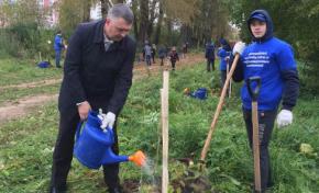 «Ростелеком» принял участие в создании «Аллеи связи» в Вологде