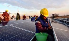Китай запускает гигантскую плавучую СЭС на месте угольной шахты