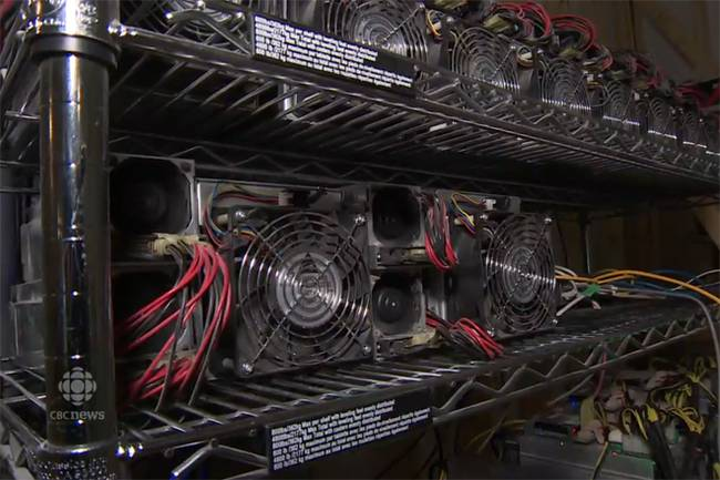 Добыча Bitcoin производит тепло, которое используется для выращивания продуктов питания