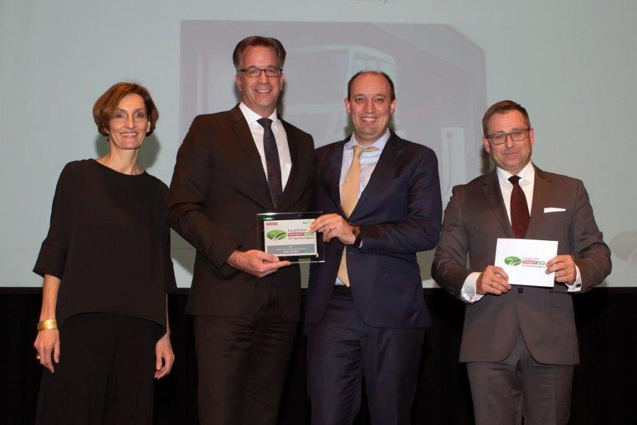 Компания MAN Truck & Bus получила престижную премию за устойчивое развитие в категории «Грузовые автомобили»