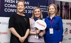 В Москве прошла III Fresh Russian Communications Conference 2018
