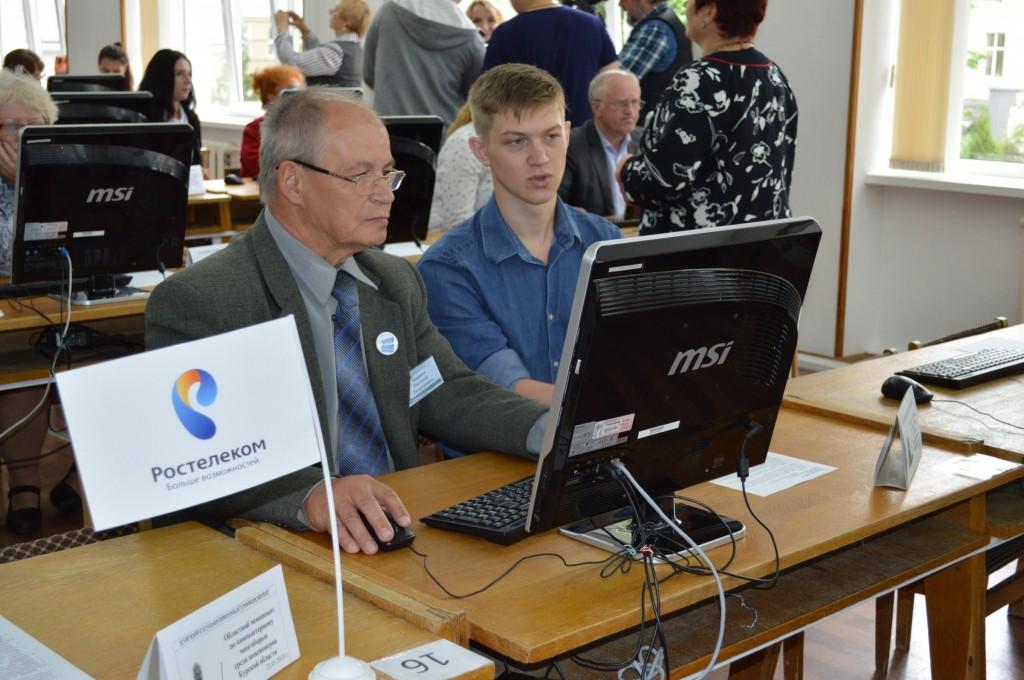 «Ростелеком» поддержал чемпионат по компьютерному многоборью в Курске