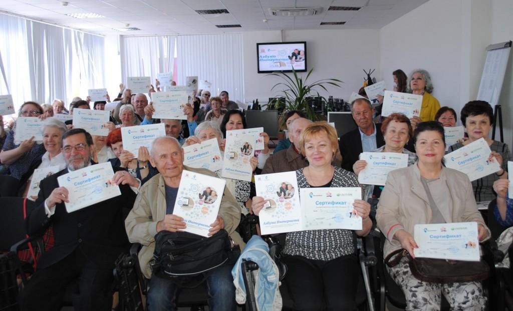 «Ростелеком» и Пенсионный фонд в Ставрополе с начала года обучили более ста пенсионеров «Азбуке Интернета»