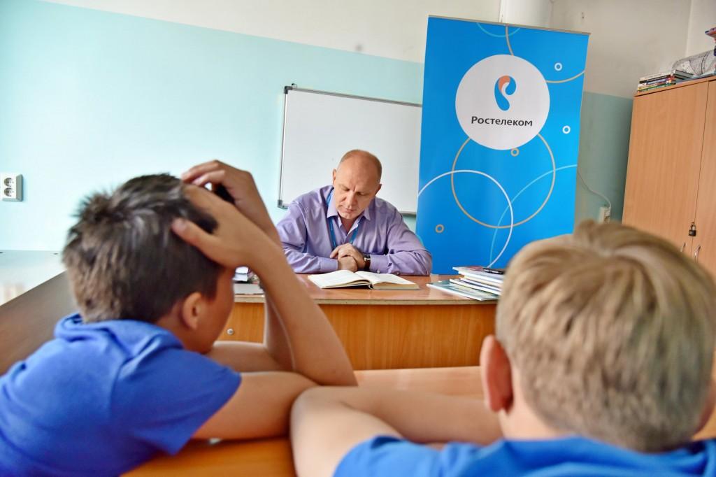 «Ростелеком» провел «Чтения с увлечением» в детских больницах Хакасии