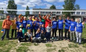 «Ростелеком» провел турнир по волейболу для воспитанников подшефного детского дома в Карелии