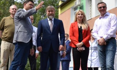 Группа Метинвест направила 25 млн грн на реконструкцию городской больницы №4 в Мариуполе