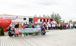 Донорский марафон #LGКомандаДобра на молодежном форуме «Территория смыслов на Клязьме» при поддержке Станислава Черчесова